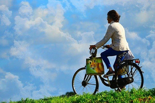 Užívejte si jízdu na kole